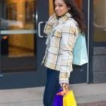 Woman Shopping — Stock Photo #8696206