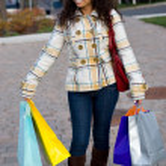 Woman Shopping — Stock Photo #8697958