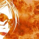 Fiery Woman — Stock Photo #9297799