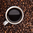 Cup of coffe to get energy and become vivacious — Stock Photo #13671306