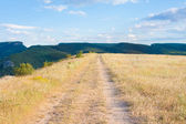 Crimea steppe — Stock Photo