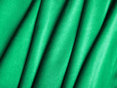 Green silk — Stock Photo