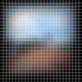 Abstraktní vektorová mozaika — Stock vektor