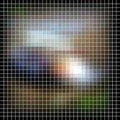 马赛克背景。抽象矢量图. — 图库矢量图片