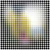 Dots abstract vector background — Stock Vector