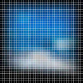 Mosaic background. Abstract vector illustration. — Vettoriale Stock