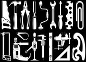 Vector icons of instruments — Stock Vector