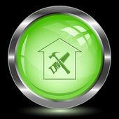 Workshop. Internet button — Stock Vector