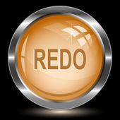Redo. Internet button — Stock Vector