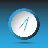 Třmen. tlačítko — Stock vektor