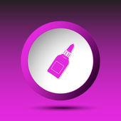 Glue bottle. Button — Stock Vector