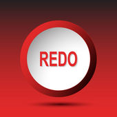 Redo. Button — Stock Vector