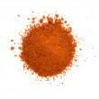Heap ground paprika isolated on white background — Stock Photo #24911149