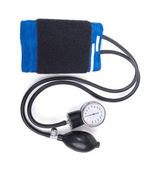 Blood pressure isolated on white background — Stock Photo