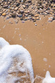 Pebble background — Stock Photo