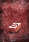 Grunge mahjong — Stock Photo