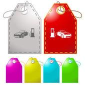 Car fueling. . — Vector de stock