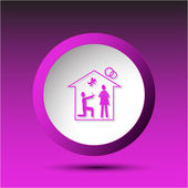 Home affiance. — Stock Vector