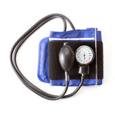 Blood pressure isolated on white — Zdjęcie stockowe