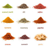 Heap ground spice — Stock Photo