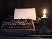 Stara maszyna do pisania — Zdjęcie stockowe