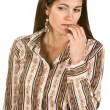 Pensive Woman — Stock Photo