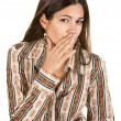 Lady Whispering - Stock Photo