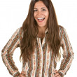 Laughing Woman - Foto de Stock