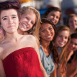Group of Good Friends Smiling — Stock Photo