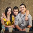 Happy Hispanic Family — Stock Photo #13127799