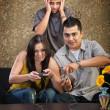 Hispanic Family — Stock Photo