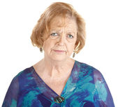 Sad Mature Woman — Stock Photo