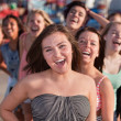 Laughing Teenage Friends — Stock Photo
