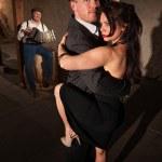 Woman and Man in Tango Dance — Stock Photo #13607356