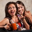 Surprised Women Laughing — ストック写真