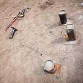 Filled Explosive Mortars — Stock Photo