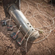Stock Photo: Steel Pipe Explosive Device