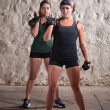 Stock Photo: Women Doing Boot Camp Style Workout