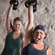 Instense Boot Camp Style Workout — Stock Photo