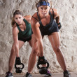 Serious Boot Camp Style Workout — Stok Fotoğraf #14933713