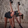 Women Doing Boot Camp Workout — Stock Photo #14933917
