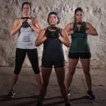 Boot Camp Workout Women — Stock Photo