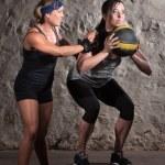 Boot Camp Workout Balance Training — Stock Photo #14934287