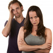 Skeptical Wife With Husband — Stock Photo #14935195