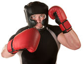 Defensive Boxing Move — Stock Photo