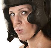 Kvinnliga spansktalande fighter — Stockfoto