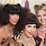 Постер, плакат: Joyful Ladies in Beauty Salon
