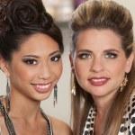 Mixed Pair of Gorgeous Ladies — Stock Photo #16352613