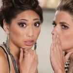 Two Ladies Telling Secrets — Stock Photo #16352633