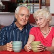 Stock Photo: Adorable Senior Couple